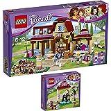 Lego Friends Reiterhof 2er Set 41123 41126 Waschhäuschen für Emmas Fohlen + Heartlake Reiterhof - sofort lieferbar!