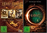 Der Herr der Ringe Spielfilmtrilogie + Der Hobbit Spielfilmtrilogie * je Teil 1+2+3 * DVD Set