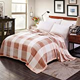 M&TAN TV Decke,Decken Nickerchen Freizeit-Decke Klimaanlage Decke,Mikrofaser Decke,Bequeme Decke-A 120x200cm(47x79inch)