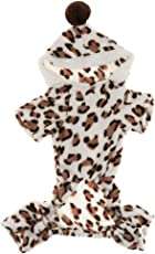 MagiDeal Winter Pet Dog Jacket Puppy Clothes Warm Winter Clothes Sweater Coat Pink/Brown - brown, XL