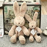 Muñeca de Oso y conejo de peluche de dibujos animados lindo juguetes,decoración del hogar bebé pacificar regalo
