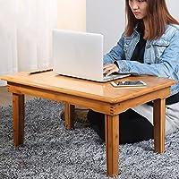 Comparador de precios ZSHzdz Mesa de Madera Escritorio de la computadora Cama Plegable Lazy Notebook portátil Pequeño Escritorio Portable Small Table (Tamaño : 70 * 50 * 35cm) - precios baratos