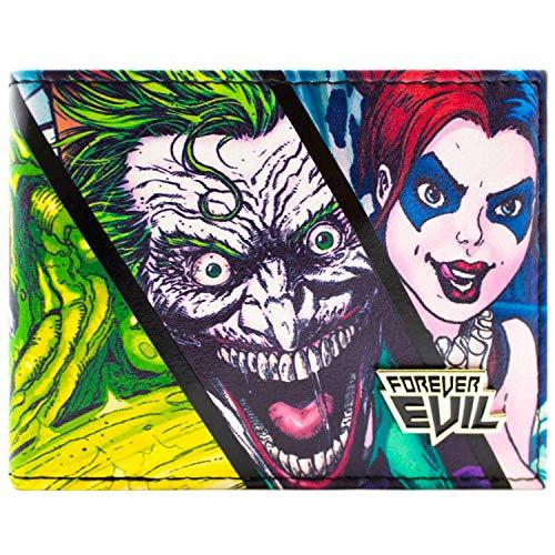 DC Comics Forever Evil Baddies Schwarz Portemonnaie Geldbörse -