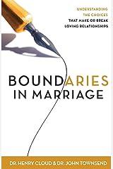 Boundaries in Marriage Paperback