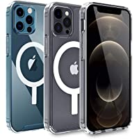 AICase Custodia Trasparente per Phone 12/Phone 12 PRO con Cerchio Magnetico Integrato per Phone 12 | Phone 12 PRO 6.1…