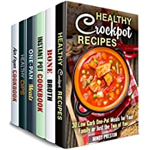 Soulful Kitchen Box Set (6 in 1): Cook Amazing Crockpot, Cast Iron, Dip, Air Fryer, Bone Broth Recipes with the Taste of Comfort (Comfort Recipes) (English Edition)