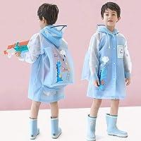 Poncho Antipioggia Morbido e confortevole Poncho Impermeabile Bambini con posizione zainetto impermeabile pioggia giacca…