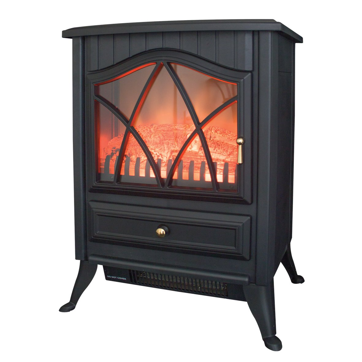 benross cast iron effect fire electric stove watt white amazoncouk kitchen u home with castorama. Black Bedroom Furniture Sets. Home Design Ideas