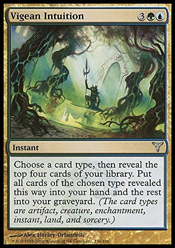 Magic The Gathering - Vigean Intuition - Intuito Vigeano - Dissension
