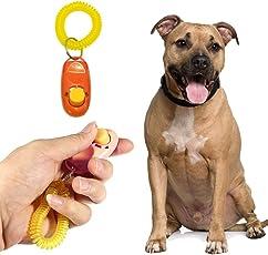 Pet Training Clicker With Wrist Strap For Dog / Cat / Kitten / Puppy / Bird (Orange)