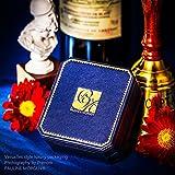 """Pauline & Morgen """"Champagner"""" Damen-Kette Halskette mit Anhänger Kristall Collier rosegold - 5"""