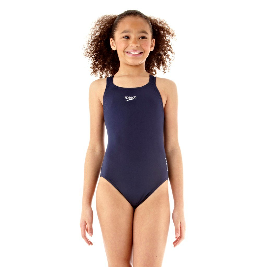 Speedo End+ Mdlt 1Pce Jf Costume da Bagno Junior, Blu, 16 anni