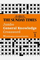 The Sunday Times Jumbo General Knowledge Crossword Paperback