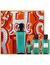 HERMES EAU D´ORANGE VERTE EDC 100 ML + GEL 100 ML + MINI 7.5 ML SET REGALO