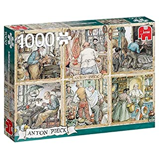 Premium Collection 18817 Anton Pieck-Craftmanship 1000 Piece Jigsaw Puzzle, Multi