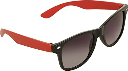 Amour Full Frame Wayfarer Sunglasses for Kids with Case (5 to 8 Years)