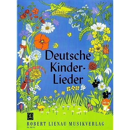 Deutsche Kinderlieder: leicht gesetzt