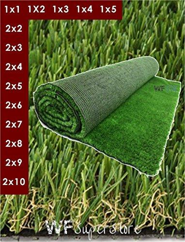 Erba Sintetica altezza 30 mm. - Tappeto prato sintetico artificiale finto (1x3)