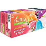 Fiama Di Wills Gel Bar Celebration Pack, 125g (Buy 4 Get 1 Free), 625 g