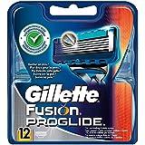 Gillette Fusion ProGlide Rasierklingen, 12 Stück