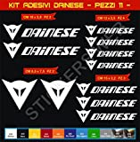 Aufkleber stickers DAINESE -Motorrad- Cod. 0568 (Bianco cod. 010)