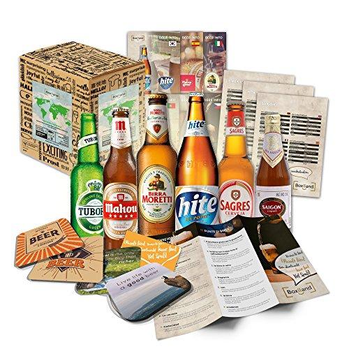 Caja regalo de 6 cervezas del mundo