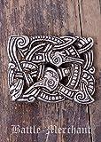Cinturón Hebilla–Criatura imaginaria LARP gürtelschließe Vikingo Medieval Plata o bronce plata