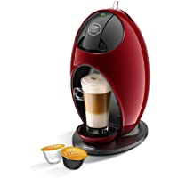 De'Longhi JOVIA Macchina per caffè Espresso e Altre Bevande in Capsula, 1500 W, 0.8 Litri, plastica, Rosso