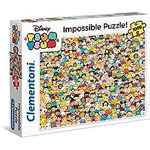 Clementoni - Impossible puzzle 1000 piezas tsum tsum (39363)