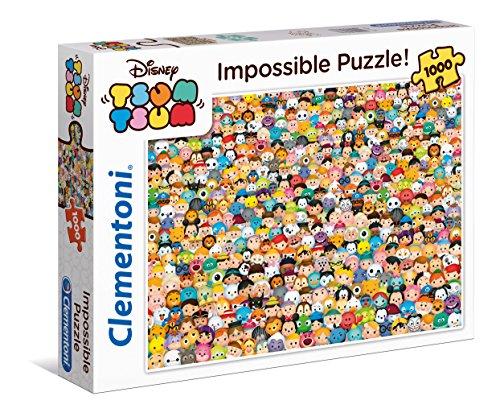 Clementoni 39363.3 - Tsum Tsum - Impossible Puzzle