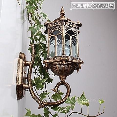 Stile creativo outdoor lighting lampada da parete balcone giardino illuminazione percorso lampada da parete, 155*230*400 (mm)