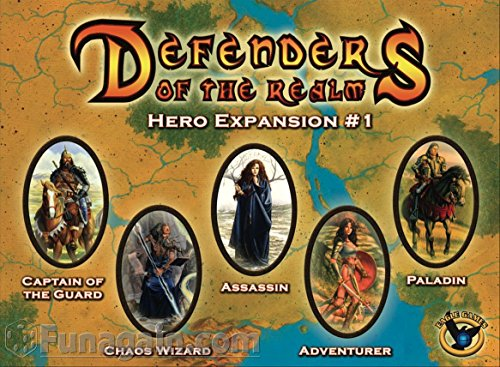 Eaglegames 1291 - Defenders of the Realm, Hero Expansion, 1