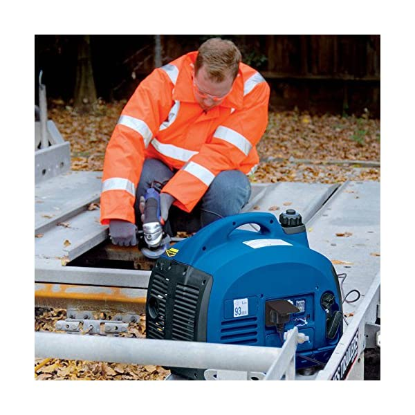 Draper 28853 Generator with Petrol Engine, 700W, Blue