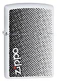 Zippo Logo Design Weiß Matt winddicht Feuerzeug–Preis Fighter 2018Limited Edition–29689