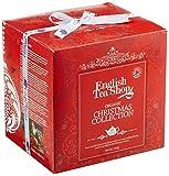 English Tea Shop -Red Cube Box Teegeschenk mit Schleife, BIO, 96 x Weihnachtstee