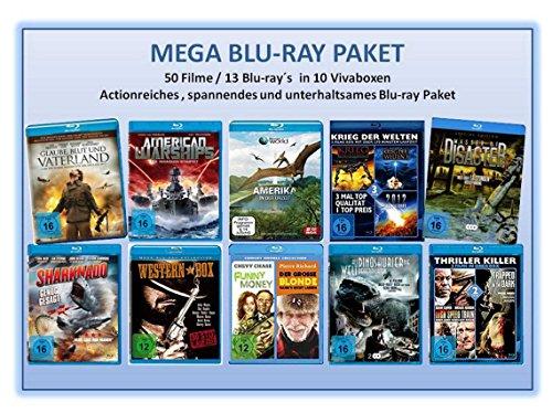 Mega Blu-ray Paket (50 Filme auf 13 Blu-rays)