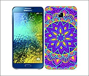 Galaxy Printed 2336 Mandala Flowers Spl Hard Cover for Samsung GRAND NEO