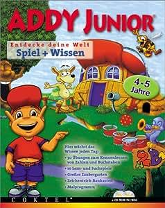 ADDY JUNIOR  Spiel + Wissen 4-5Jahre