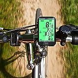 BIFY Fahrradcomputer Fahrradcomputer Kabellos Tachometer 20 Funktion Großbildschirm Touch Lichtsteuerung LCD Hintergrundbeleuchtung Fahrrad Meter Kilometerzähler - 4