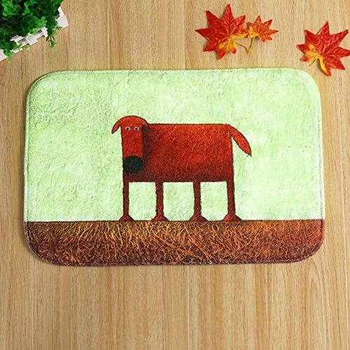Chambre Maison coral fleece antidérapant tapis/rouge chien 40x60cm