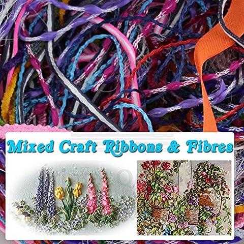 Craft–Nastri e fibre–Tira Fuori il tuo Crafty Edge–Mixed Pack colorato