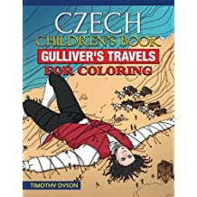 Czech Children's Book: Gulliver's Travels for Coloring