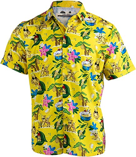 b612ed88b7509 odin sky Bananas & Blow | Funny Drug Hawaiian Button Down Polo Golf Party  Shirt for