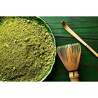 Matcha-Tee-Pulver-Grner-Matcha-Tea-grn-green-VERSCHIEDENE-GREN