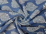 10Yard Indigo Stoff Dot Print Baumwolle Hand Prägung