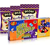 1xJelly Belly Bean Boozled Partyspiel & 3xJelly Belly Harry Potter Bertie Bott´s Sweetsking Set