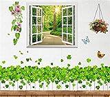 Wandaufkleber home 3d aufkleber aufkleber schlafzimmer warm selbstklebende tapete raum hintergrund wanddekorationen garten wandaufkleber, breite 120 * höhe 100 cm