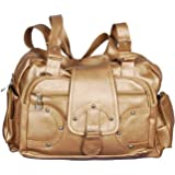 Bellina C Pocket Golden Shoulder handbag for women
