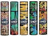 #4: Layer'r Shot Maxx Body Spray for men Rage,Voyage,Flick,Flair,Trend Set Of 5