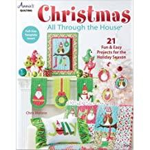 Christmas All Through the House: Includes Full-size Template